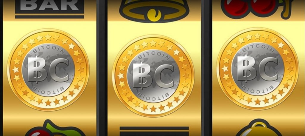 Bitcoin casino slot machine