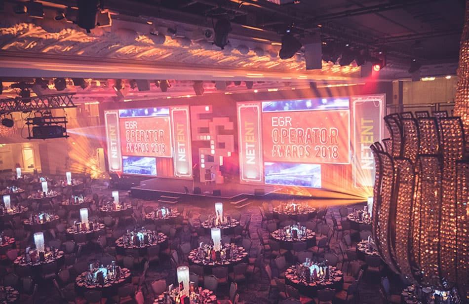 EGR Operator Awards ceremony