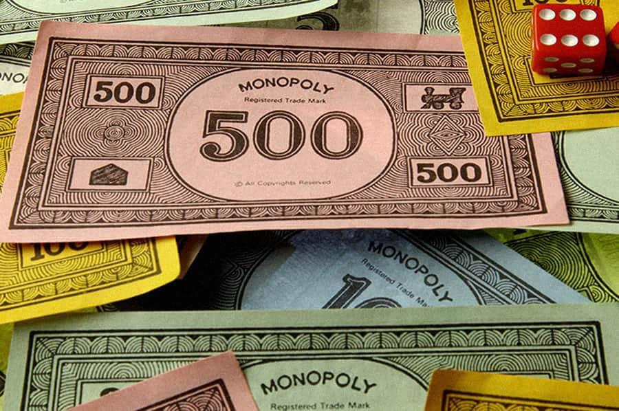 Monopoly game bills